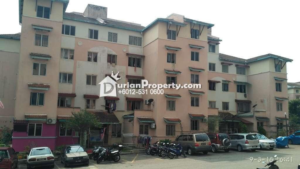 Apartment For Auction at Anggerik Apartment, Taman Bunga Raya