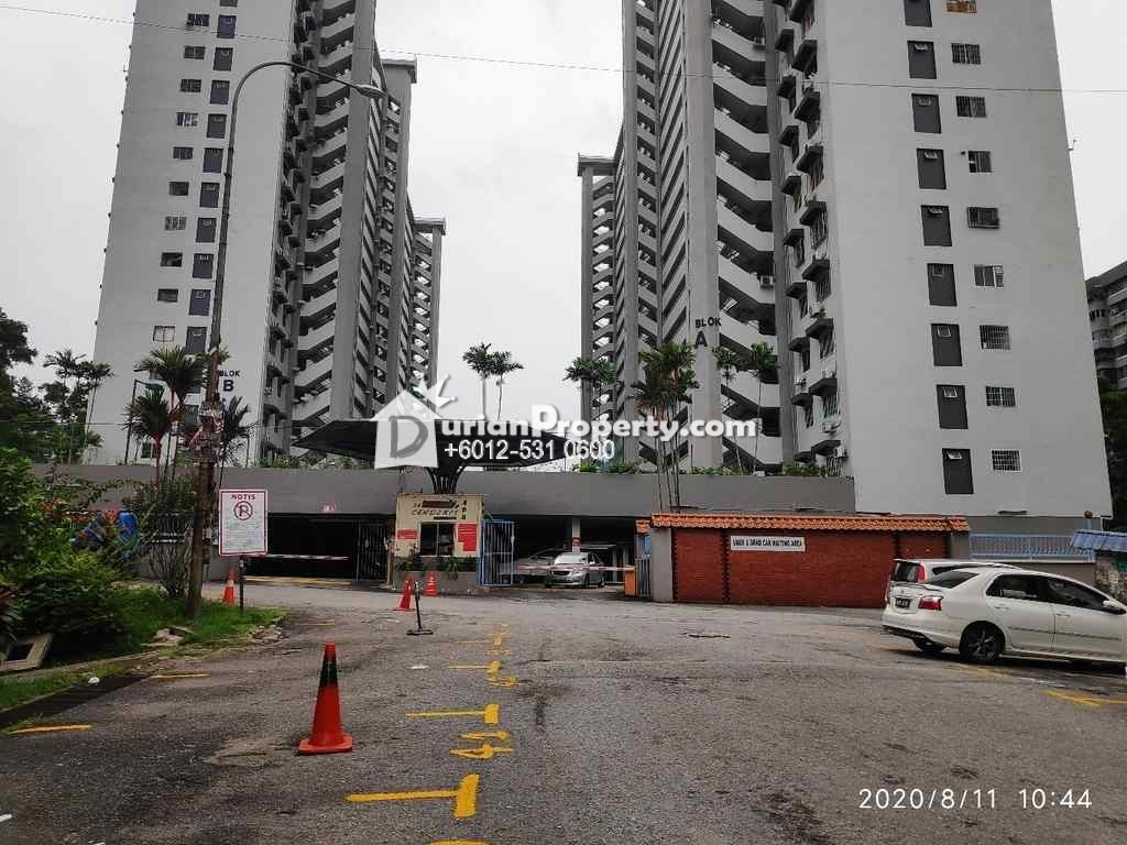 Condo For Auction at Seri Cendekia Condominium, Taman Connaught