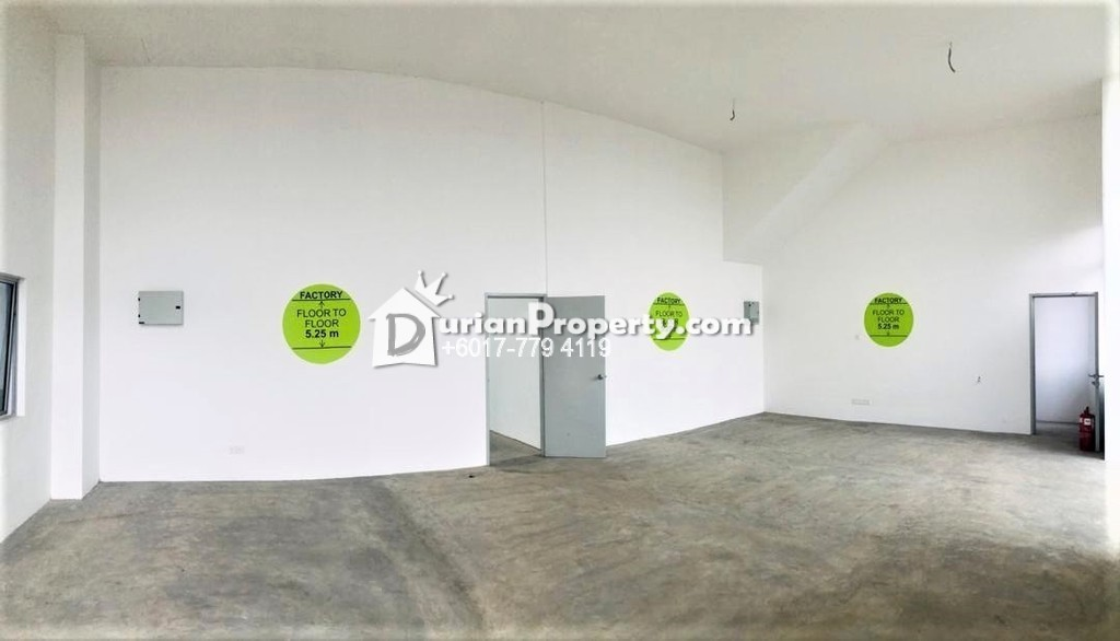 Terrace Factory For Rent at Iskandar Halal Park, Pasir Gudang