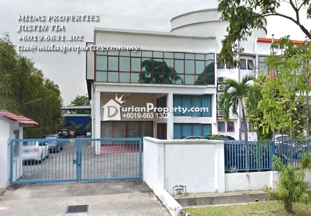 Semi-D Factory For Sale at Temasya Industrial Park, Saujana
