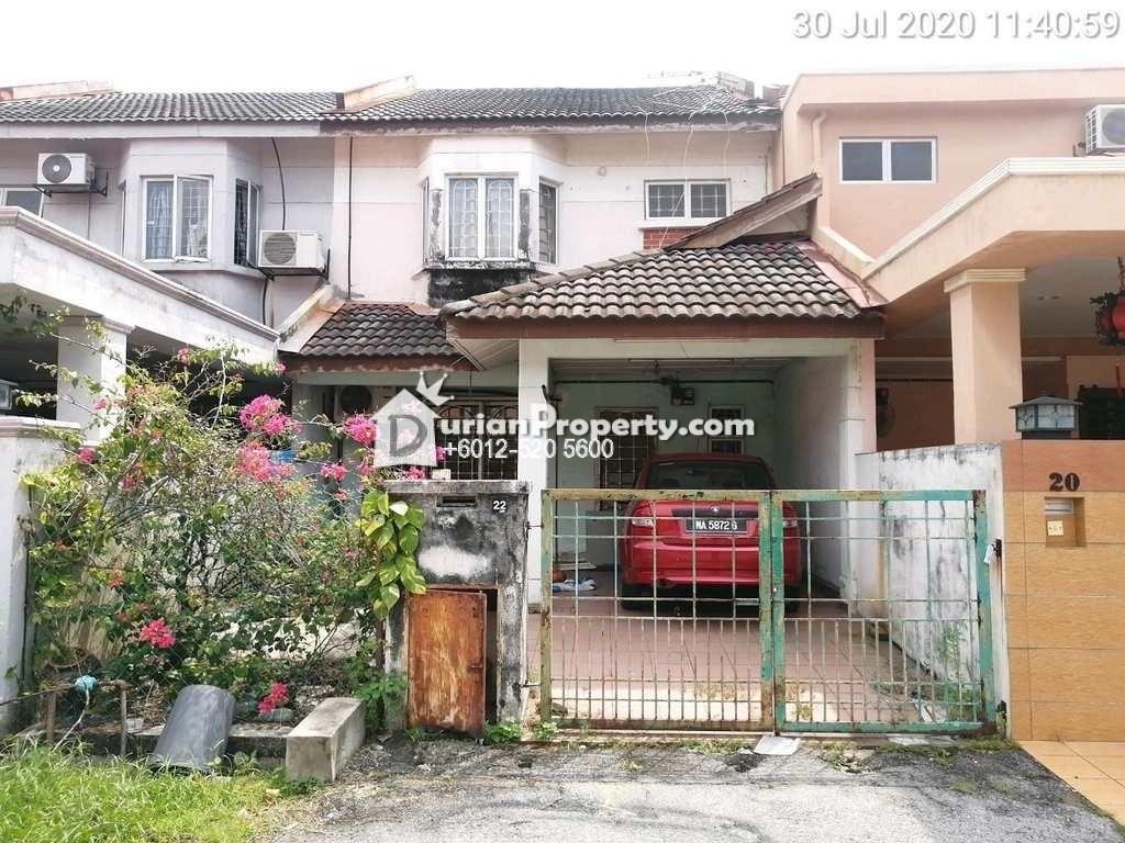 Terrace House For Auction at Taman Sri Andalas, Klang