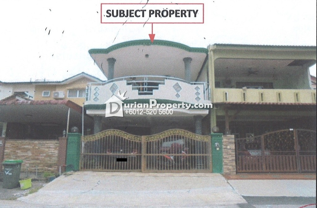 Terrace House For Auction at Taman Camar, Kulim