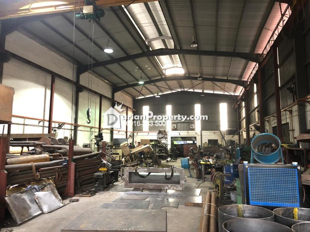 Detached Factory For Sale at Pandamaran, Port Klang