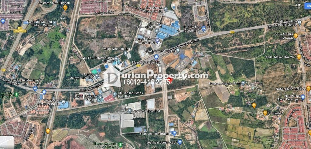 Industrial Land For Rent at Kedah, Malaysia