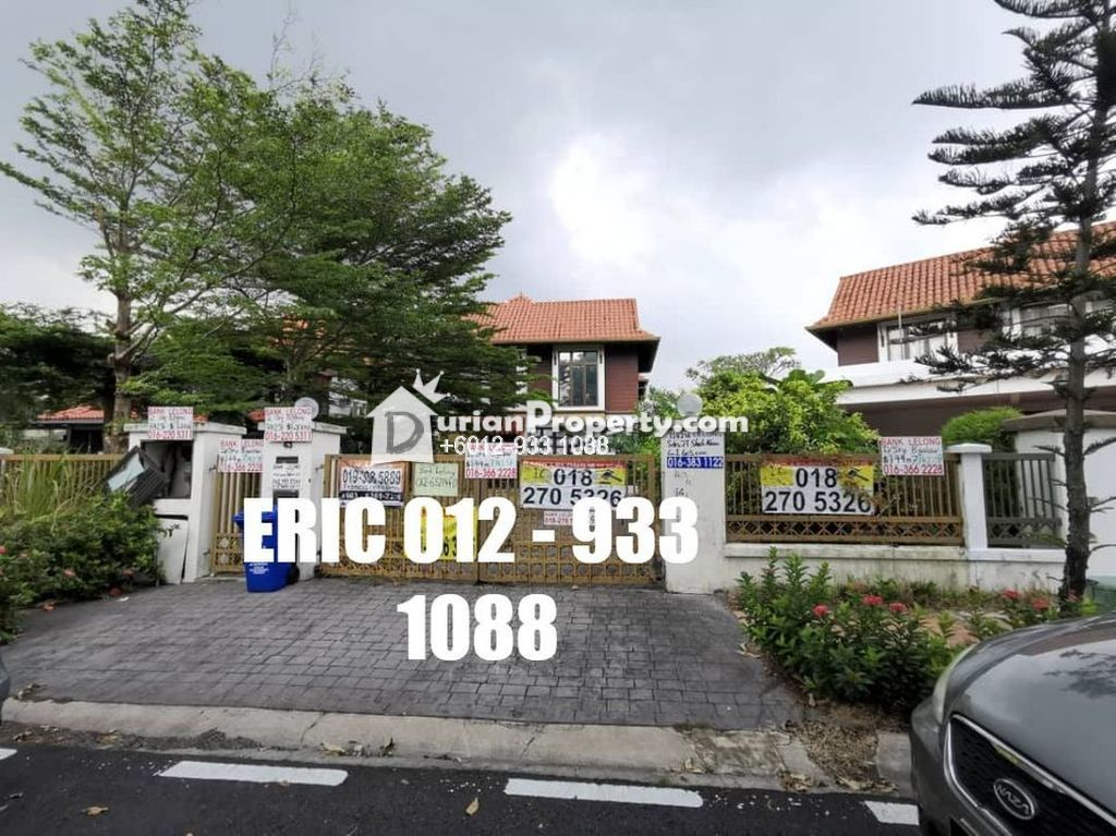 Bungalow House For Auction at Section 27, Shah Alam