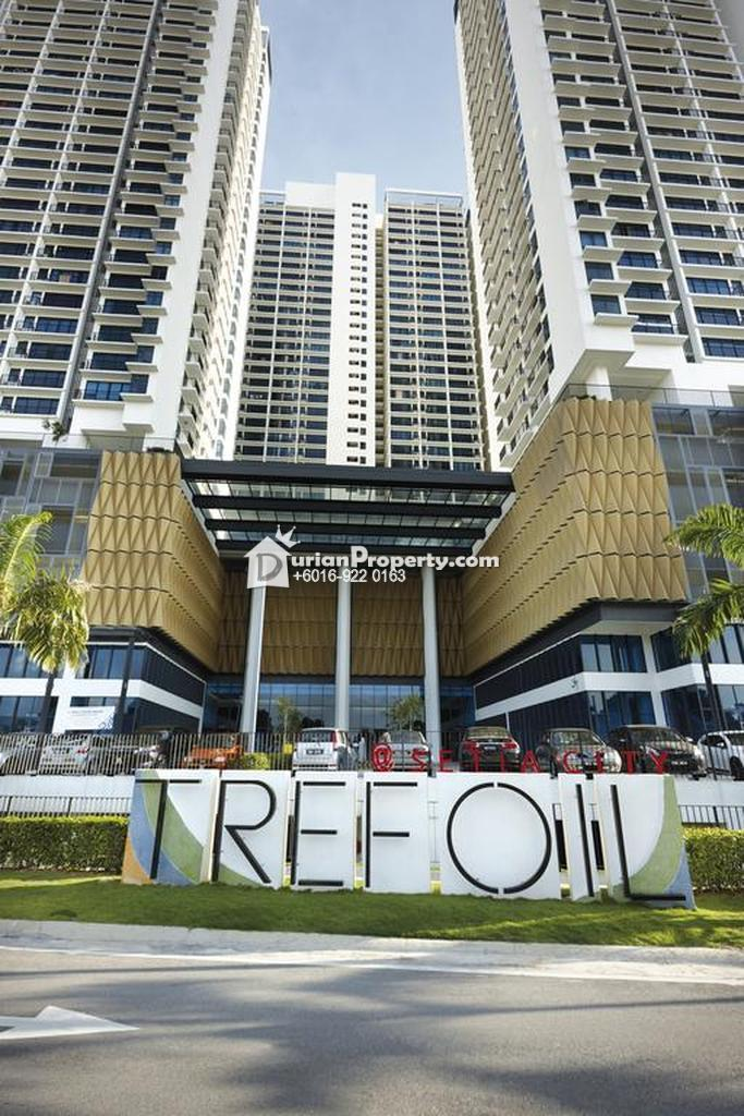 Condo For Rent at Trefoil, Setia Alam