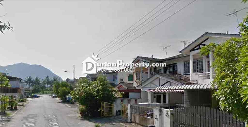 Terrace House For Auction at Taman Ampang, Ipoh