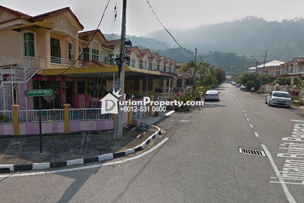 Terrace House For Auction at Taman Balik Pulau, Balik Pulau