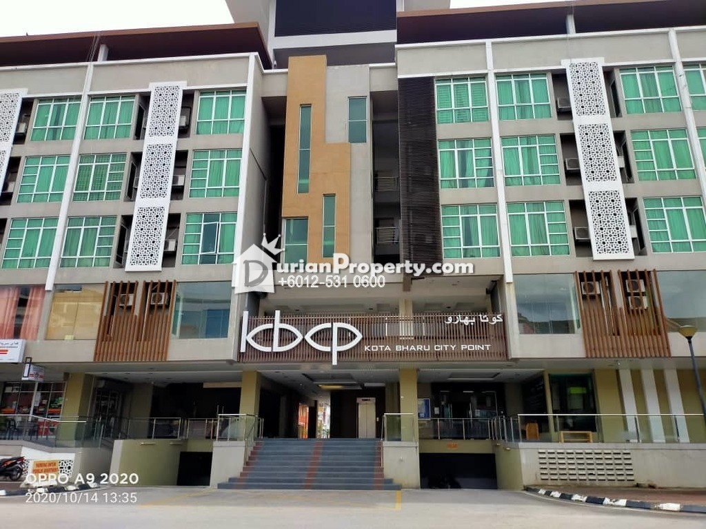 Serviced Residence For Auction at Kota Bharu City Point, Bandar Kota Bharu