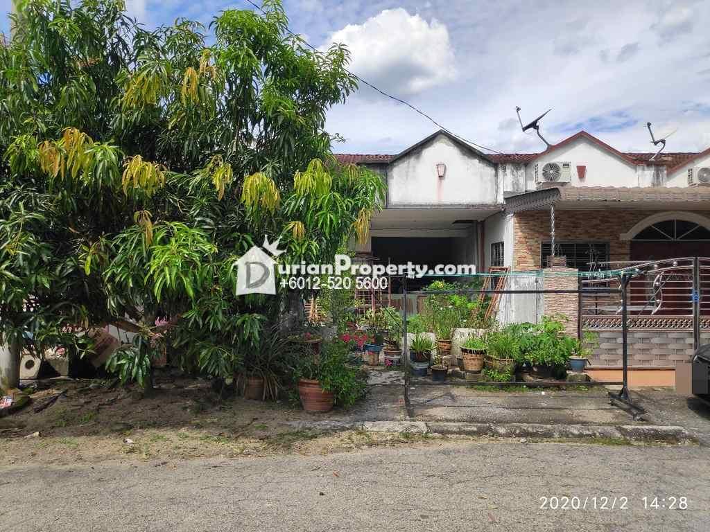 Terrace House For Auction at Taman Anggerik Permai, Beruas