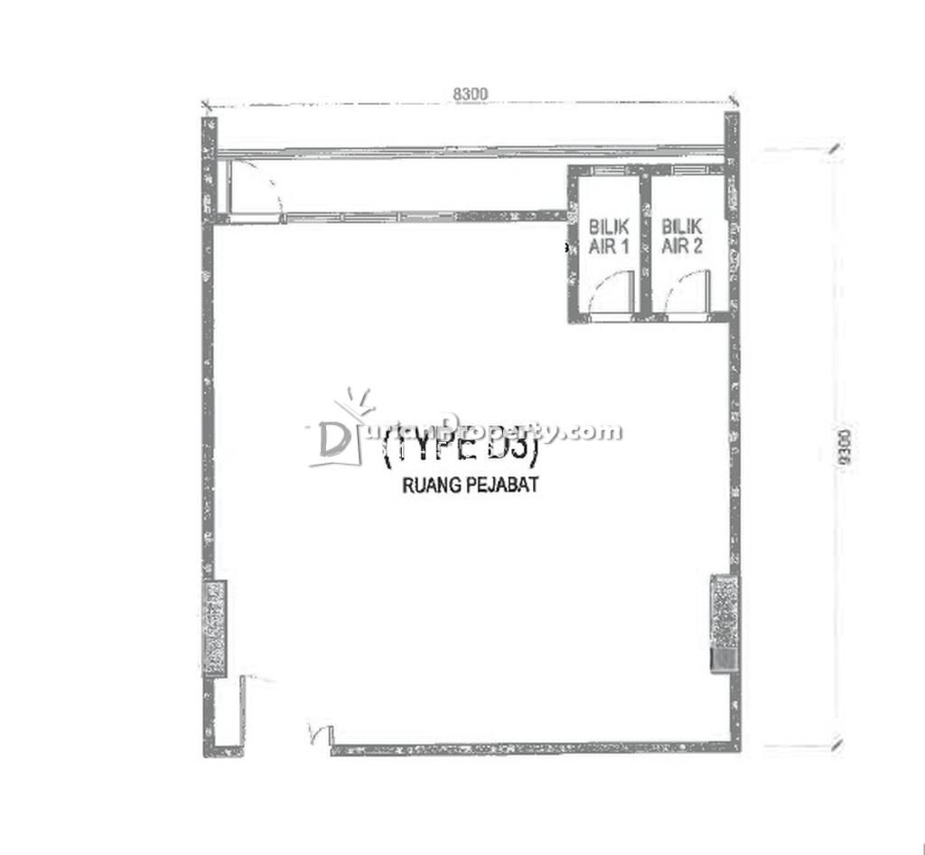 Office For Sale at The Glenz, Glenmarie