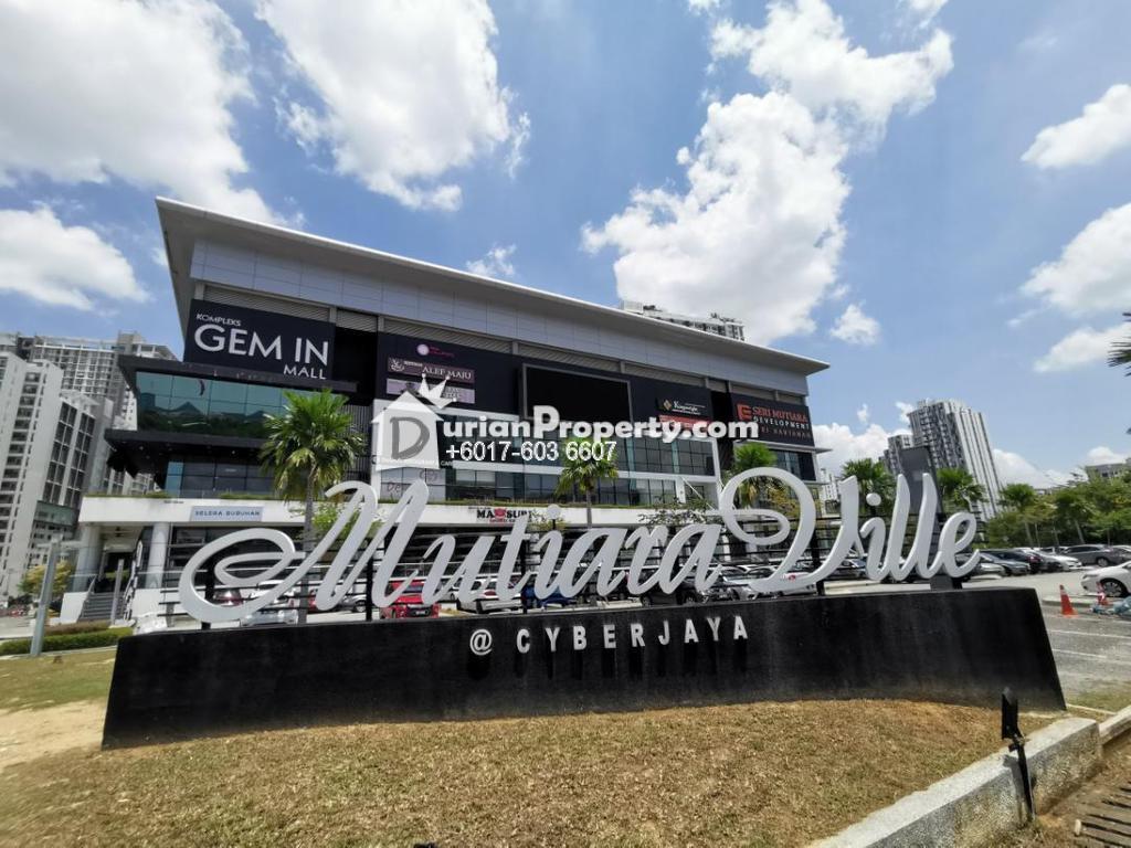 Condo For Sale at Mutiara Ville, Cyberjaya