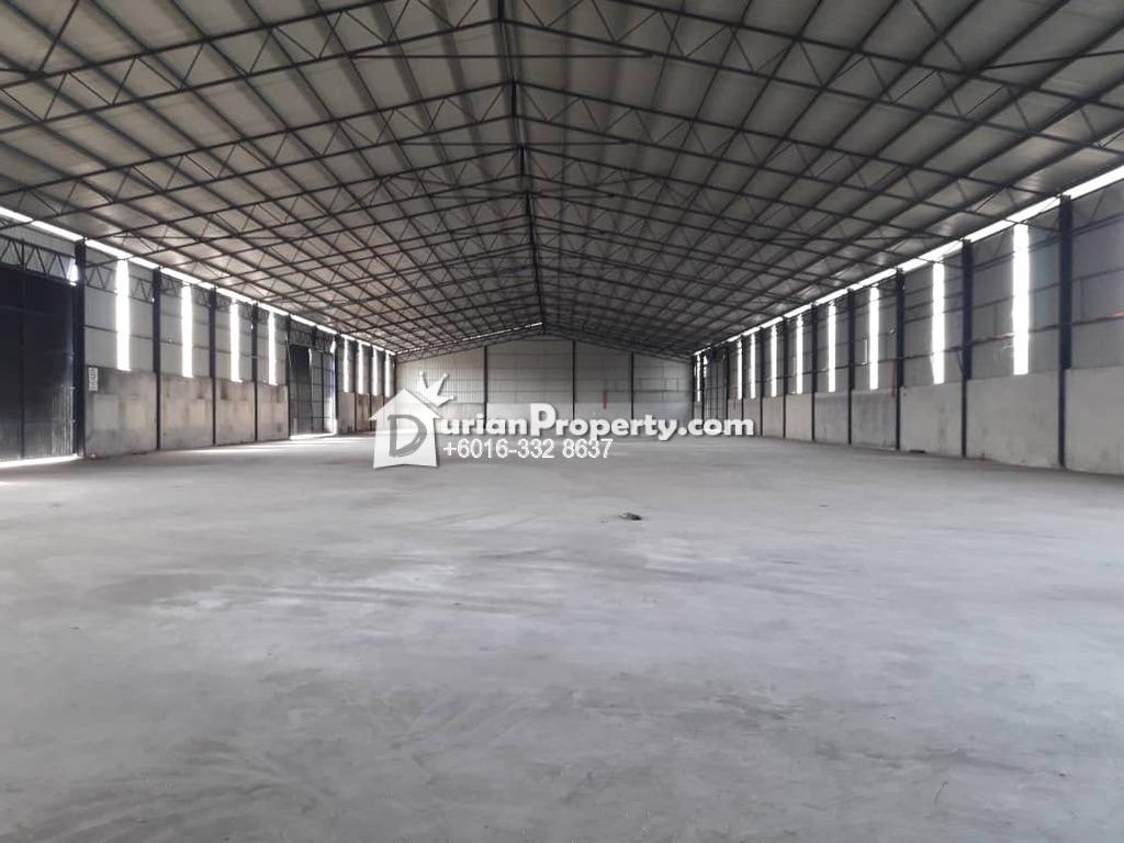 Detached Warehouse For Rent at Kampung Baru Subang, Shah Alam