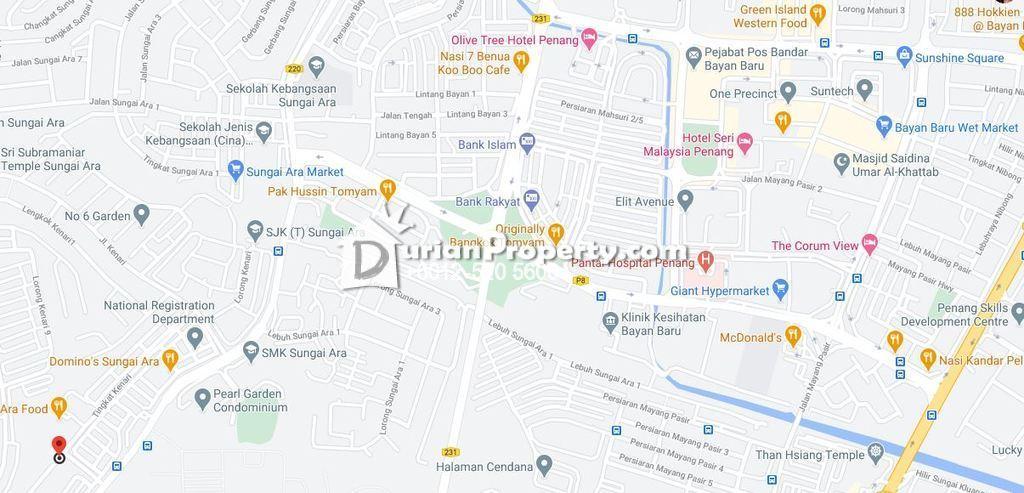 Flat For Auction at Desaria Sri Merpati Flat, Bayan Lepas