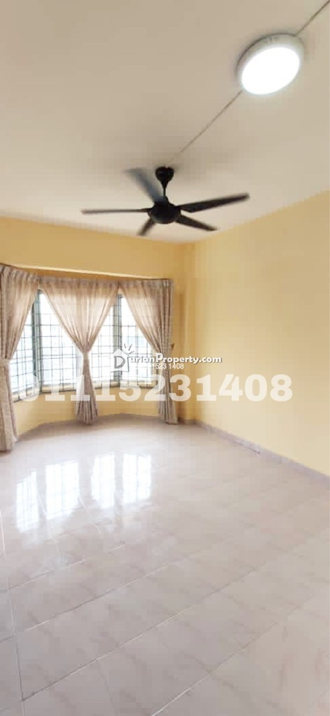 Apartment For Rent at Bukit Saujana Apartment, Johor Bahru