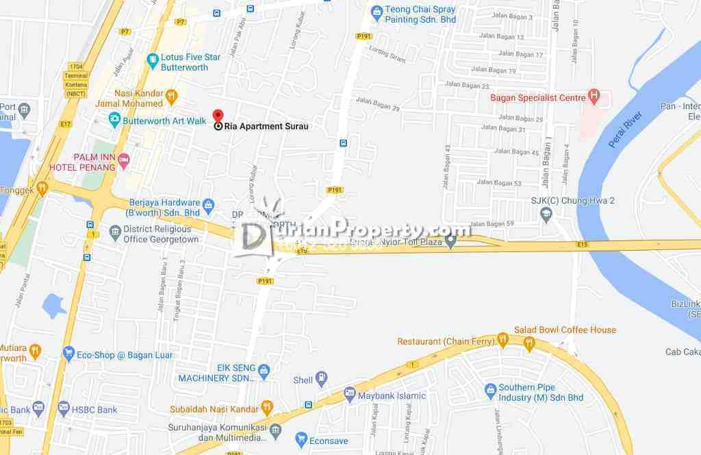 Apartment For Auction at Ria Apartment, Butterworth