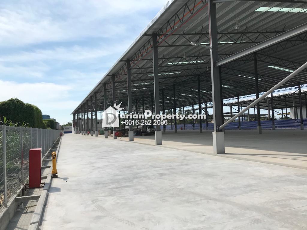 Detached Warehouse For Sale at Teluk Gong, Klang