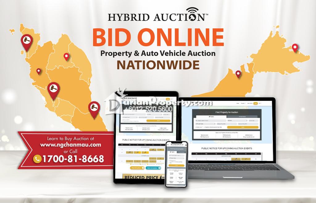 Semi D For Auction at Taman Orkid, Sungai Petani