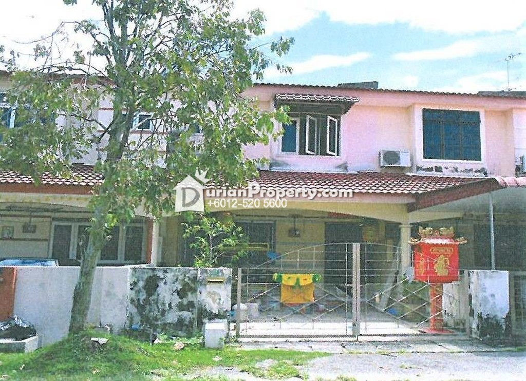 Terrace House For Auction at Taman Kledang Emas, Ipoh