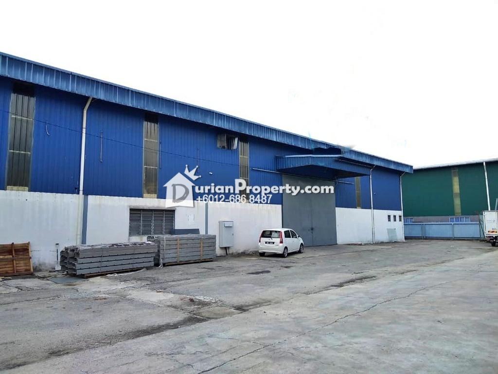 Terrace Factory For Rent at Kampung Baru Sungai Buloh, Sungai Buloh