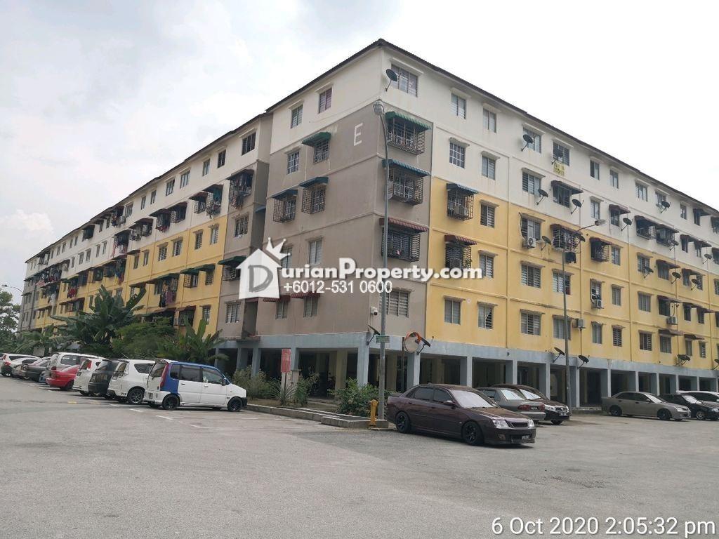 Apartment For Auction at Taman Bunga Raya, Rawang