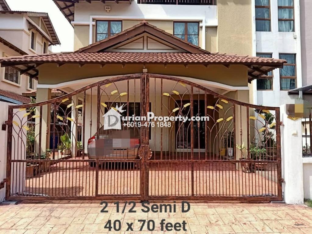 Semi D For Sale at Subang Alam, Shah Alam