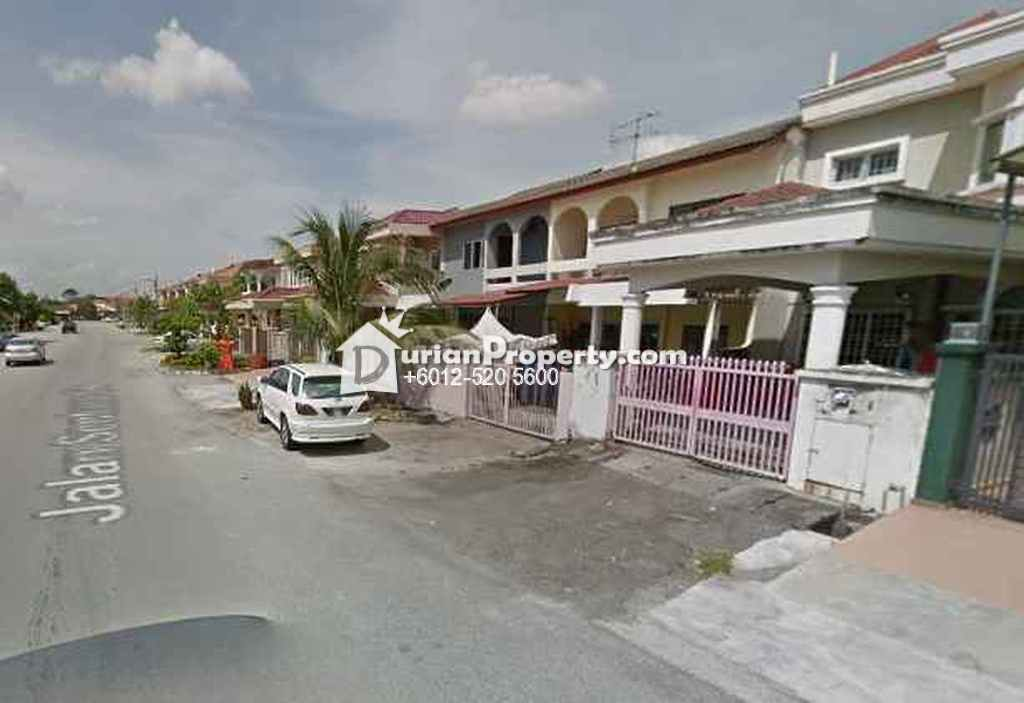 Terrace House For Auction at Taman Bunga Melor, Klang