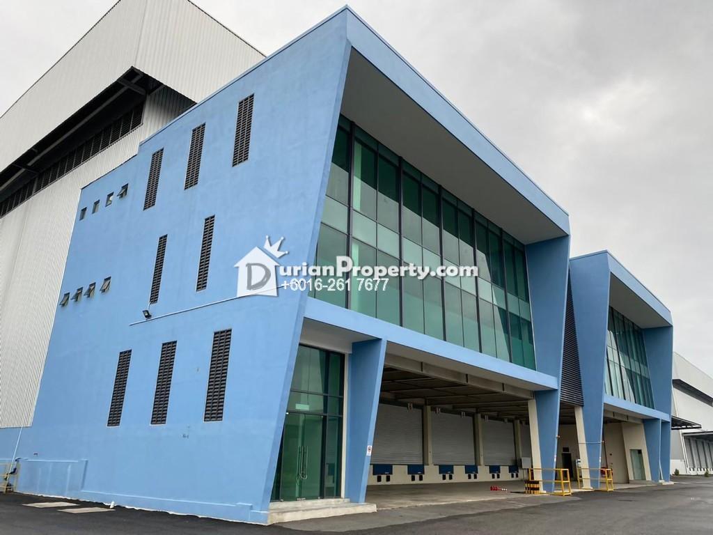 Semi-D Warehouse For Rent at Perdana Industrial Park, Port Klang