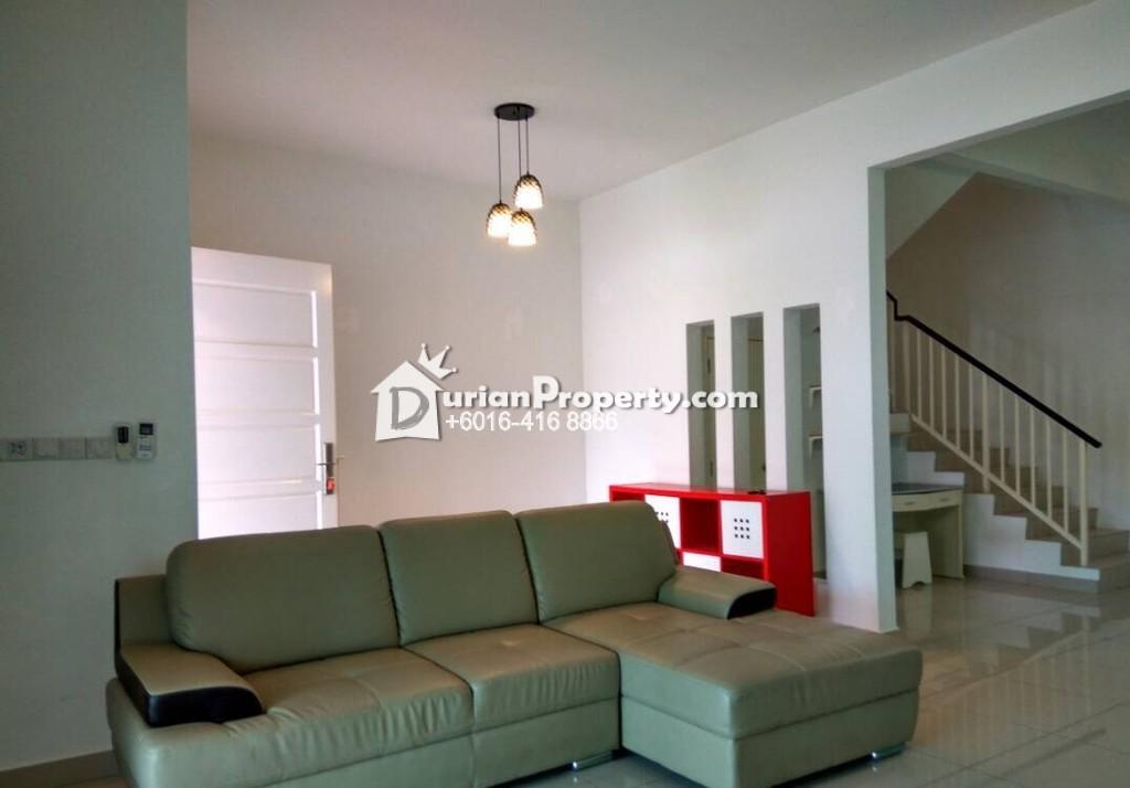 Terrace House For Sale at Tree Residency, Sungai Ara