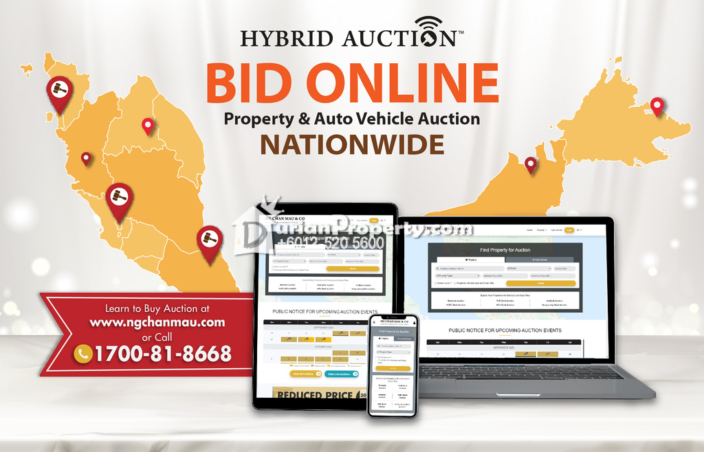 Semi D For Auction at Taman Desa Ilmu, Kota Samarahan