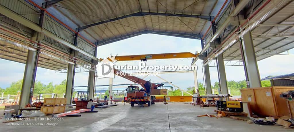 Detached Factory For Rent at Bandar Bukit Beruntung, Rawang