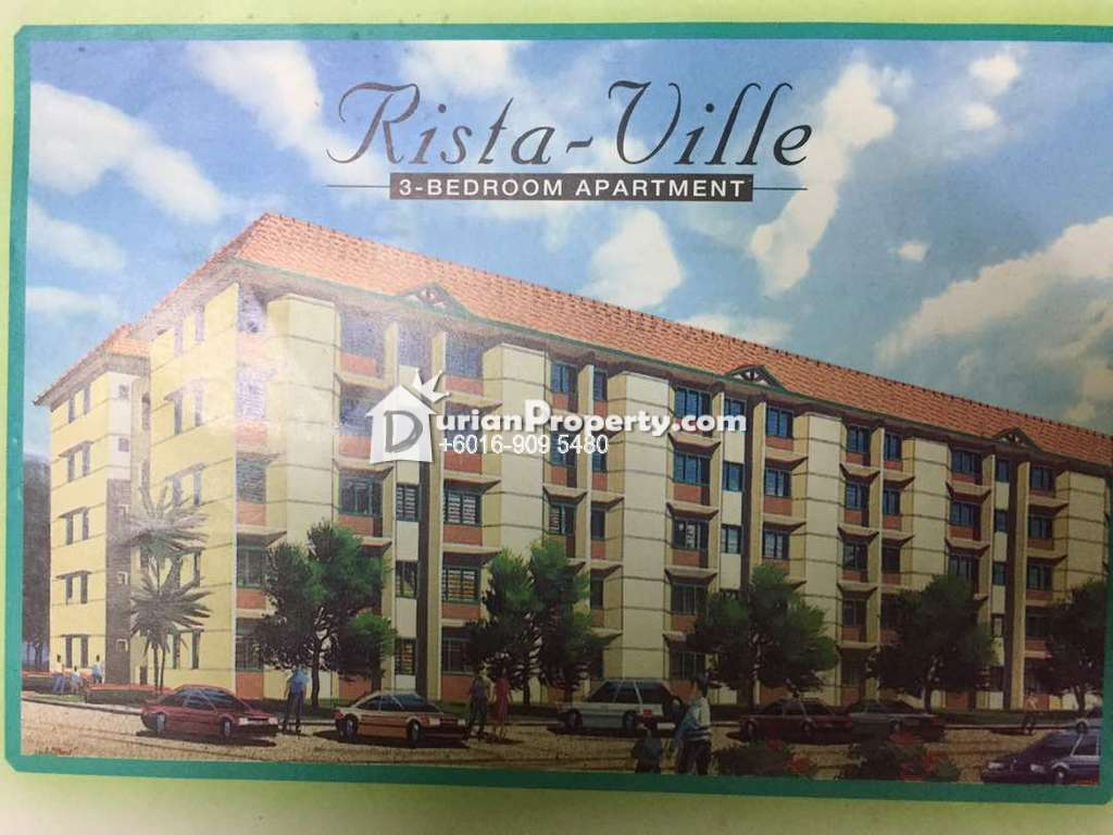 Apartment For Sale at Rista Villa Apartment, Taman Putra Perdana