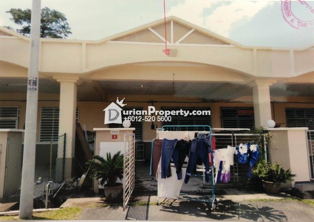 Terrace House For Auction at Taman Saga Damai, Mentakab