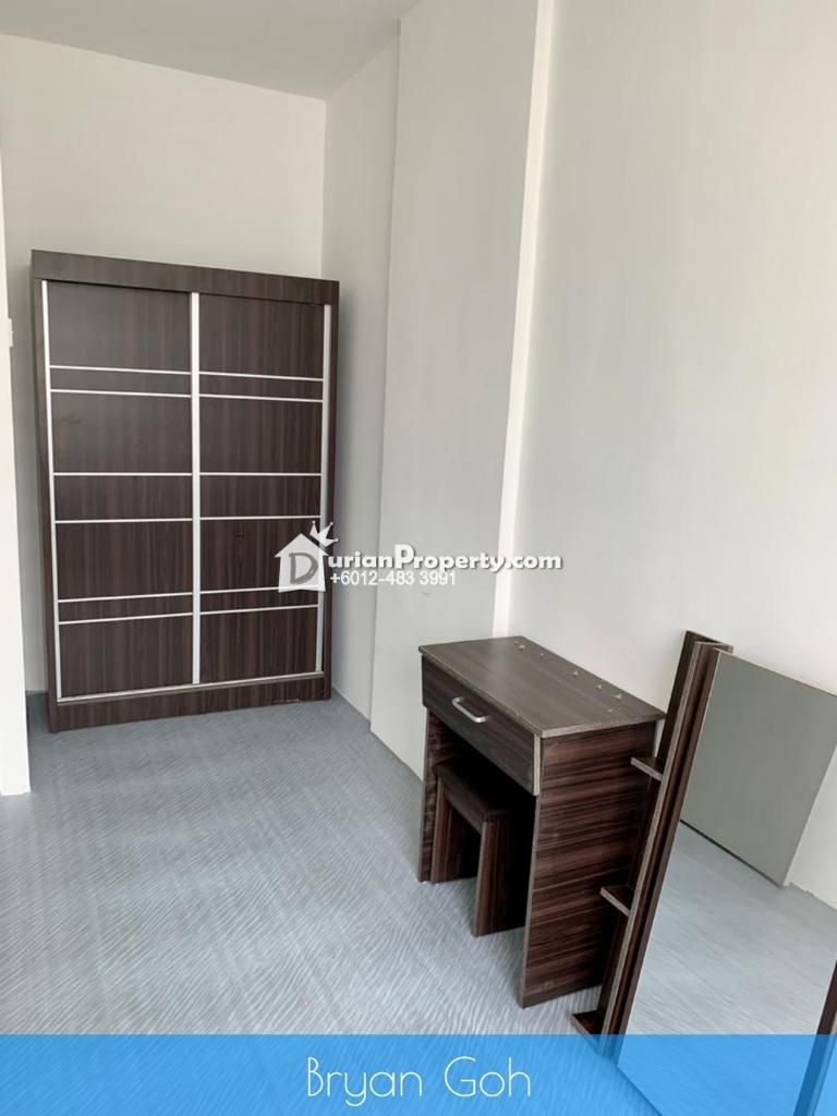 Apartment For Rent at Sri Saujana Apartment, Georgetown