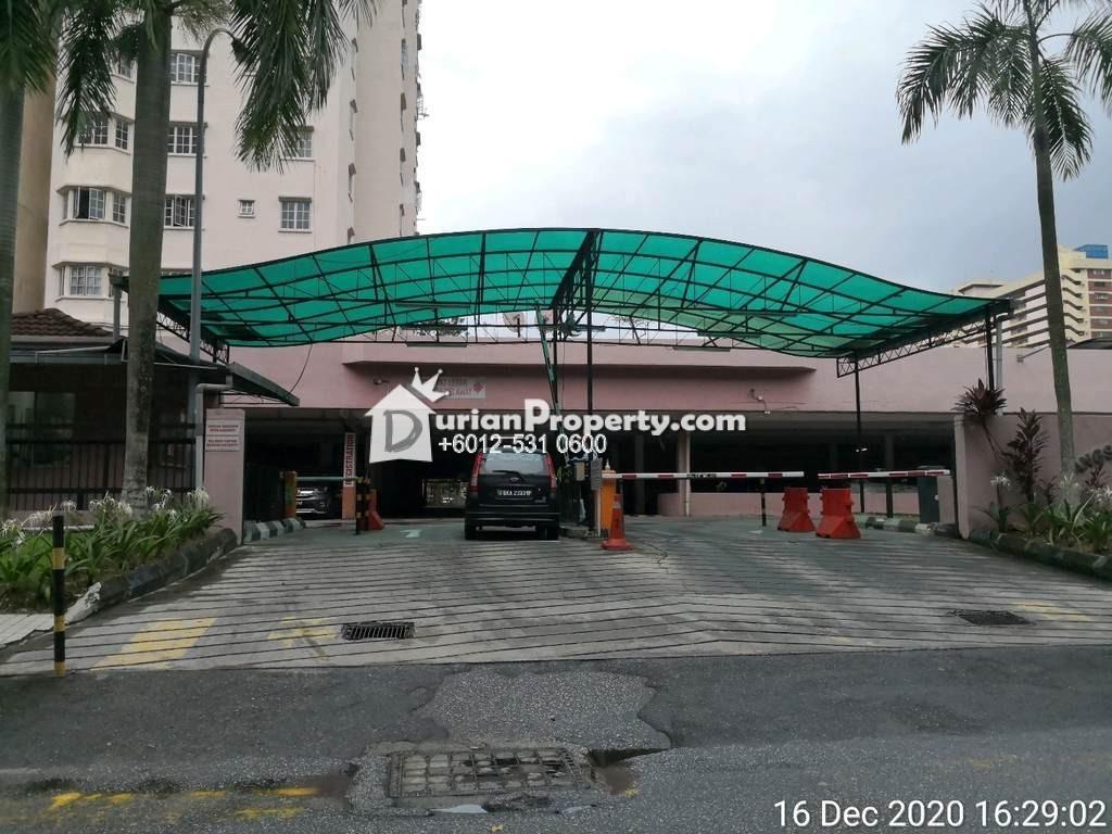 Apartment For Auction at Mawar Apartment, Sentul