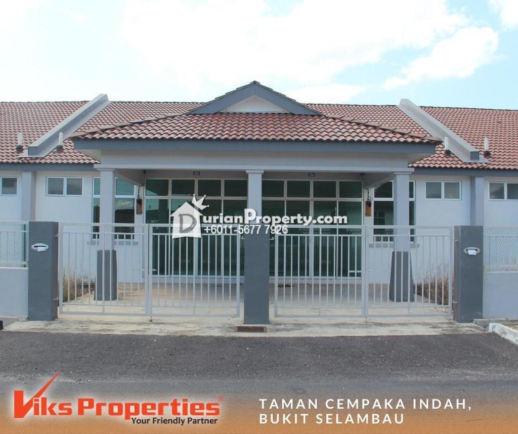 Terrace House For Sale at Taman Cempaka Indah, Bukit Selambau