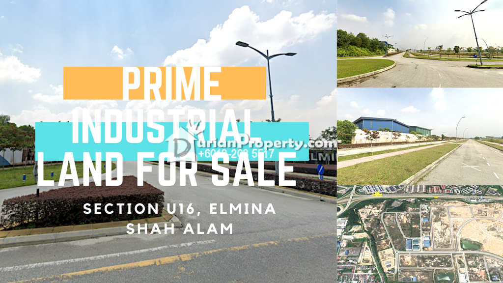 Industrial Land For Sale at City of Elmina, Shah Alam