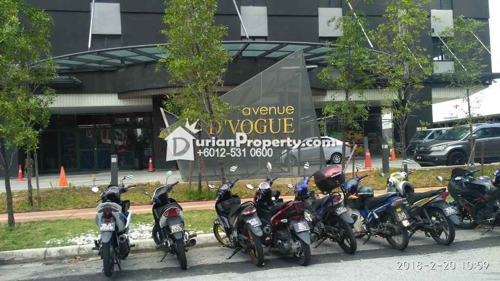 Office For Auction at Avenue D'Vogue, Petaling Jaya