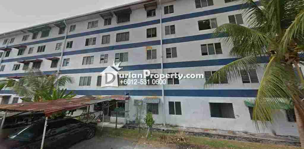 Flat For Auction at Rumah Pangsa Seri Ros, Rawang