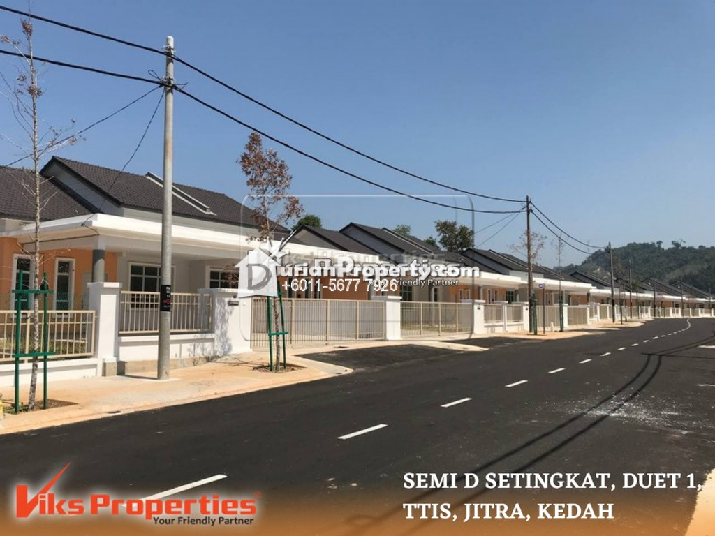 Semi D For Sale at Bandar Darulaman, Jitra