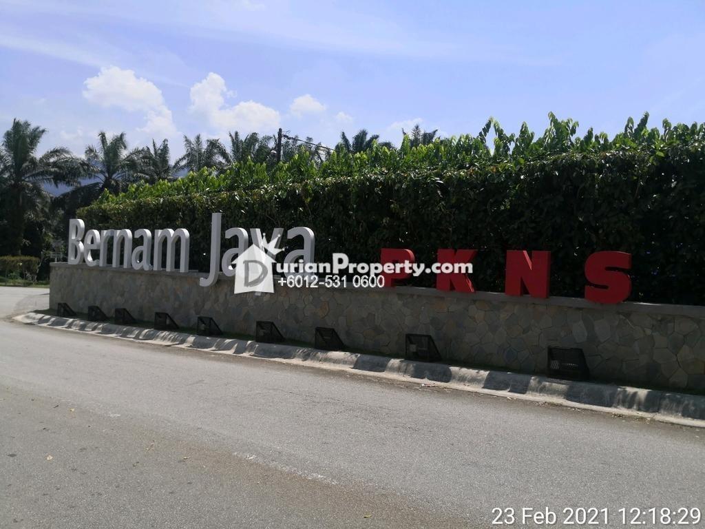 Semi D For Auction at Taman Bernam Jaya, Hulu Bernam