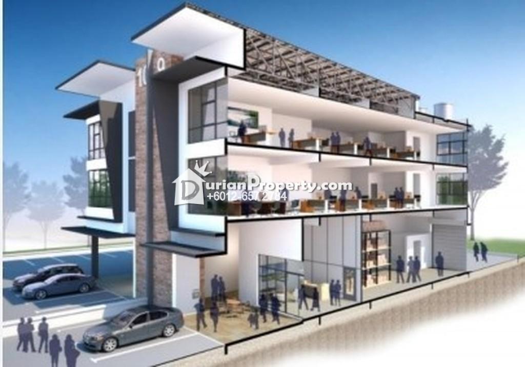 Semi-D Warehouse For Sale at Taman Kapar Indah, Kapar