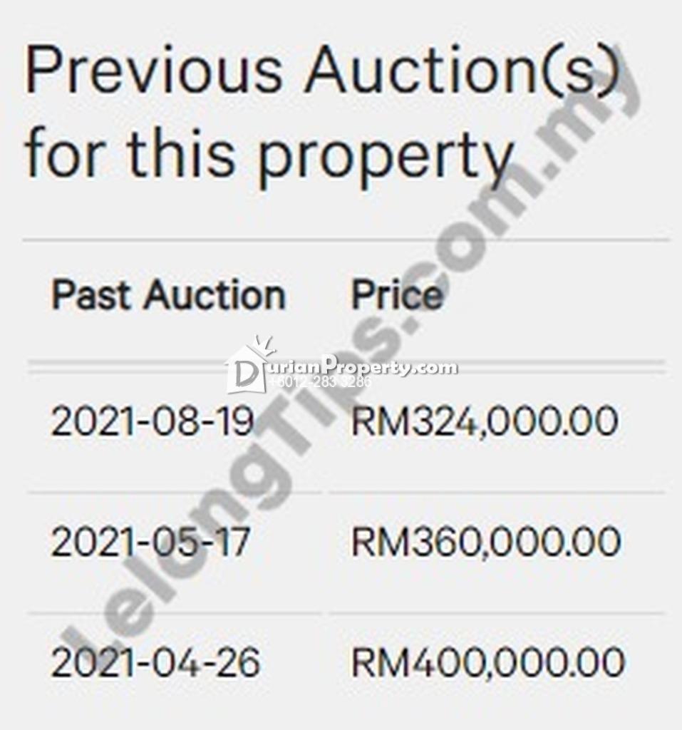 Condo For Auction at Shamelin Bestari, Cheras