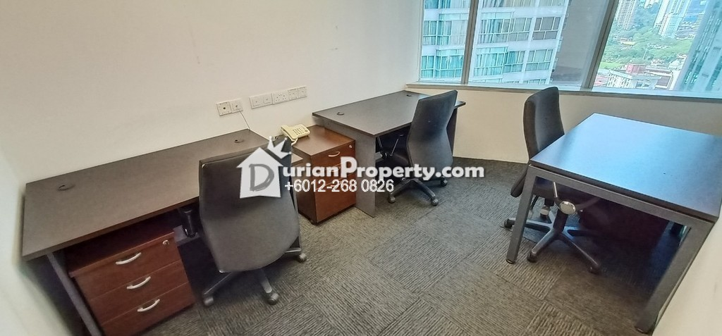 Office For Rent at Plaza Sentral, KL Sentral