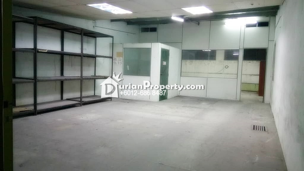 Terrace Factory For Rent at Ehsan Jaya Industrial Park, Kepong