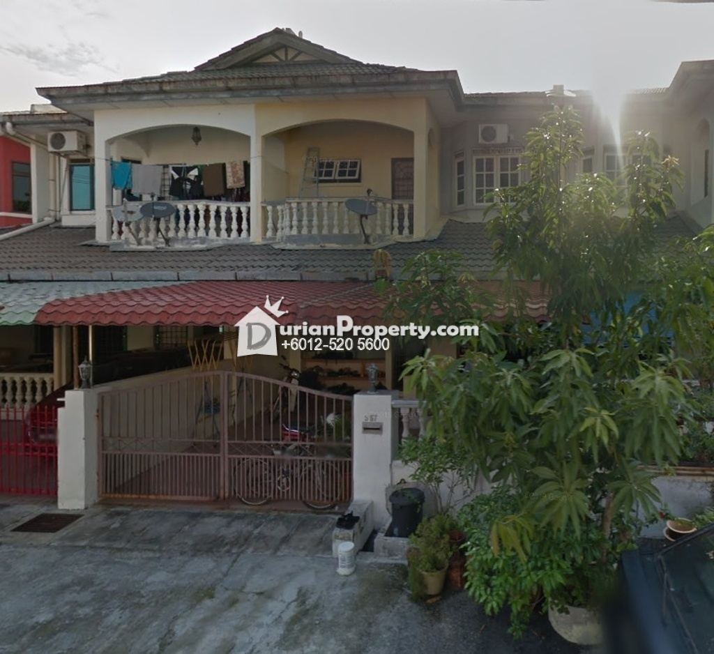 Terrace House For Auction at Taman Mujur, Ipoh