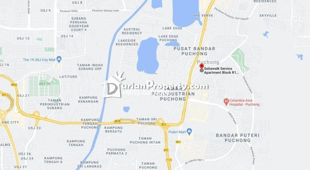 Apartment For Auction at Setia Walk, Pusat Bandar Puchong