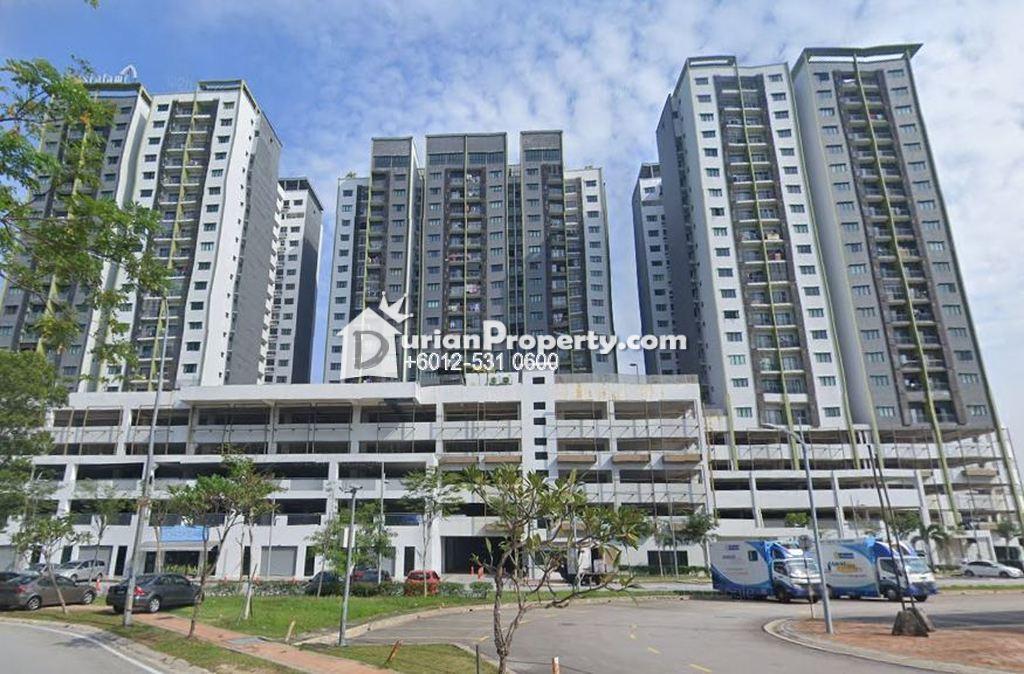 Apartment For Auction at Alami Residence, Shah Alam