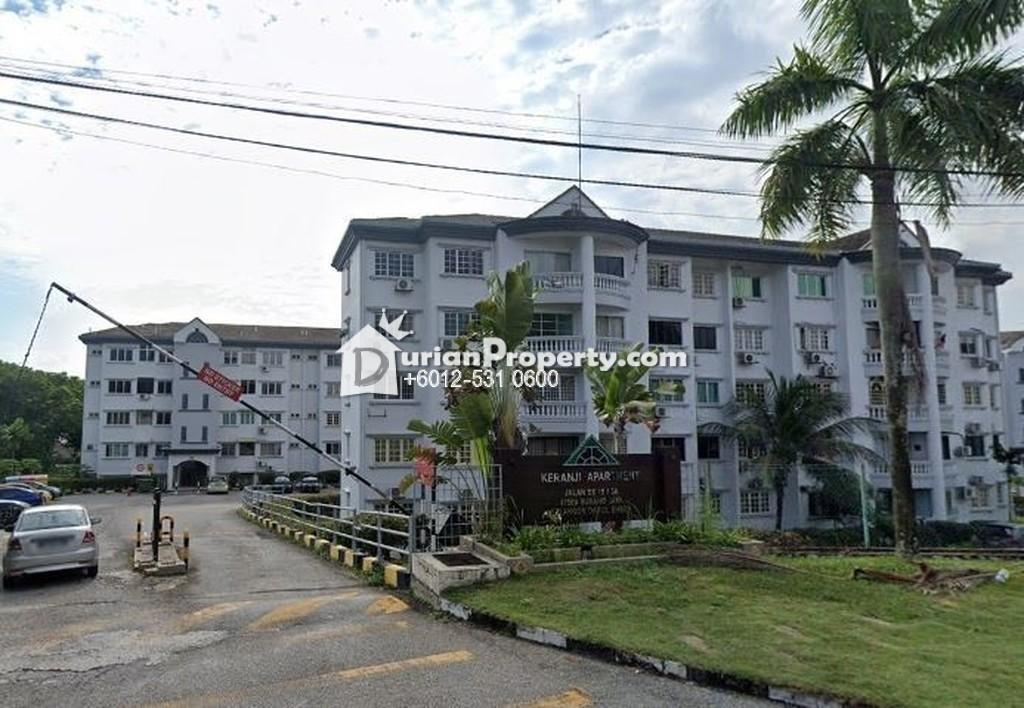 Apartment For Auction at Keranji Apartment, Subang Jaya