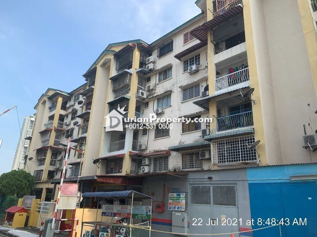 Apartment For Auction at Taman Gemilang Apartment, Cheras